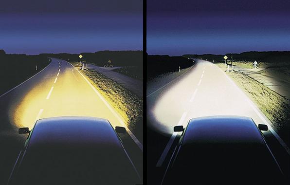 Diferencia entre iluminación halógena y kit xenon.