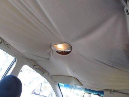 La tela del techo me hace cosquillas en la coronilla - Limpiar el interior del coche ...