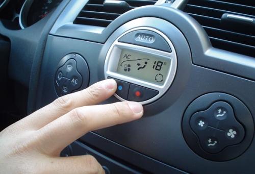 botones climatizador