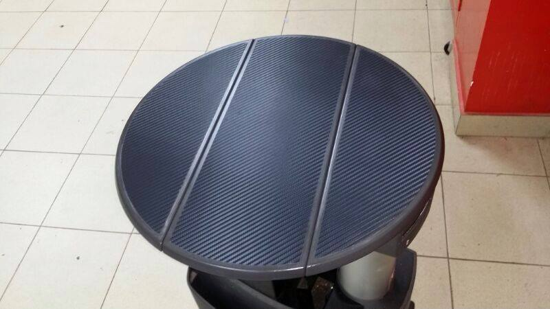 mesa transporter en carbono 3m