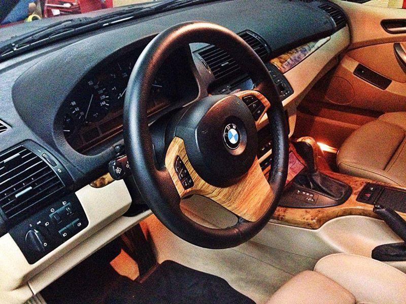 Vinilo madera para el interior del bmw x5 - Vinilos para madera ...